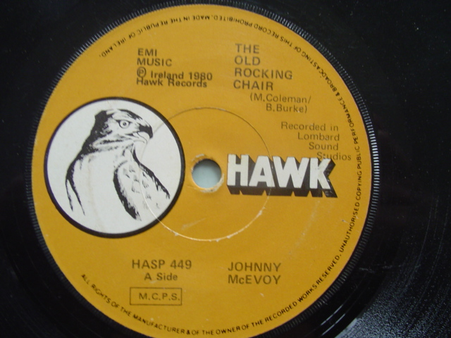 HASP 449 - JOHNNY McEVOY - ROCKING CHAIR - HAWK
