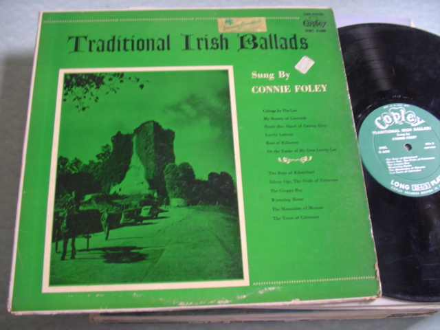 CONNIE FOLEY - TRADITIONAL IRISH BALLADS - COPLEY USA