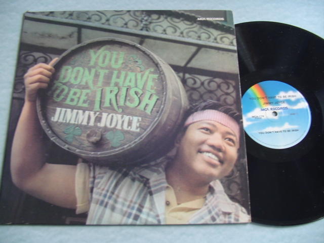 JIMMY JOYCE - YOU DON'T HAVE TO BE IRISH - MCA