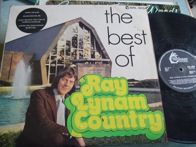 RAY LYNAM COUNTRY - THE BEST OF - RELEASE