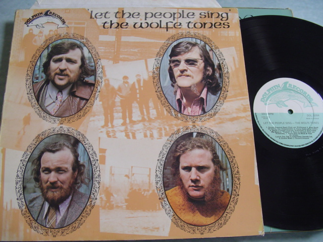 THE WOLFE TONES - LET THE PEOPLE SING - DOLPHIN