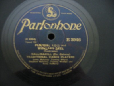 BALLINAKILL TRADITIONAL PLAYERS - PARLOPHONE 3946