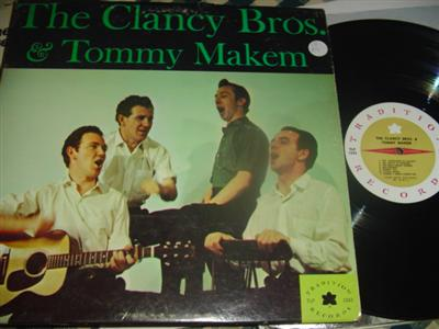 CLANCY BROTHERS & MAKEM - SELF TITLE - TRADITION
