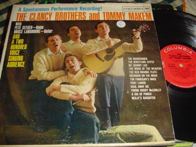 CLANCY BROTHERS & MAKEM - SPONTANEOUS PERFORMA - COLUMBIA