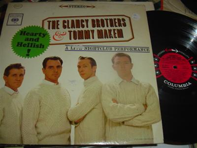 CLANCY BROTHERS & MAKEM - HEARTY & HELLISH - COLUMBIA
