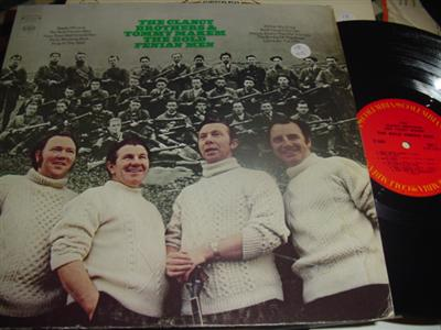 CLANCY BROTHERS & MAKEM - BOLD FENIAN MEN - COLUMBIA