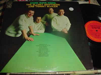 CLANCY BROTHERS & MAKEM - HOME BOYS HOME - COLUMBIA