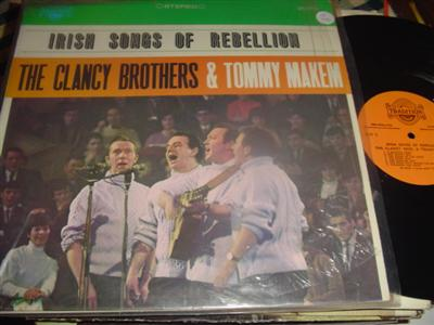 CLANCY BROTHERS & MAKEM - IRISH SONG REBELLION - TRADITION