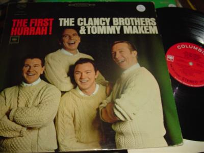 CLANCY BROTHERS & MAKEM - FIRST HURRAH - COLUMBIA