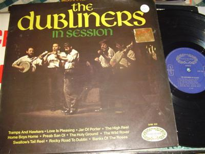 THE DUBLINERS - IN SESSION - HALLMARK