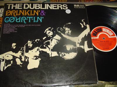 THE DUBLINERS - DRINKIN' & COURTIN' - MAJOR MINOR