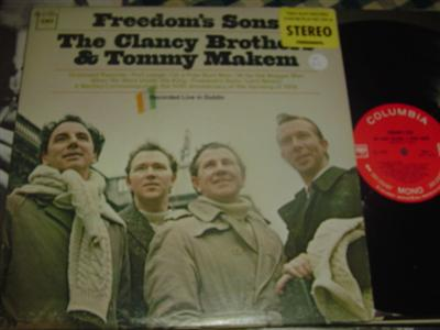 CLANCY BROTHERS & MAKEM - FREEDOM SONS - COLUMBIA
