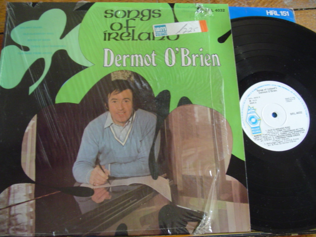 DERMOT O BRIEN - SONGS OF IRELAND 1 - RELEASE
