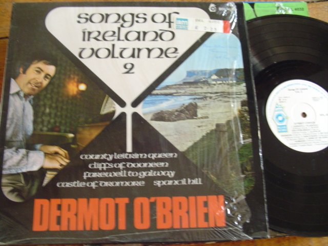 DERMOT O BRIEN - SONGS OF IRELAND 2 - RELEASE