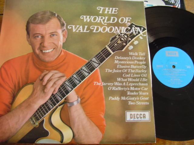 VAL DOONICAN - THE WORLD OF - DECCA