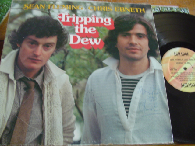 SEAN FLEMMING & CHRIS EBNETH - TRIPPING THE DEW - SIGNED