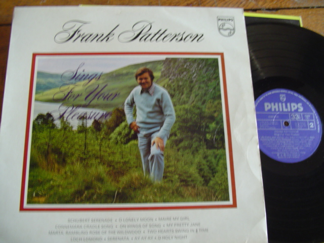 FRANK PATTERSON - FOR YOUR PLEASURE - PHILIPS SIGNED