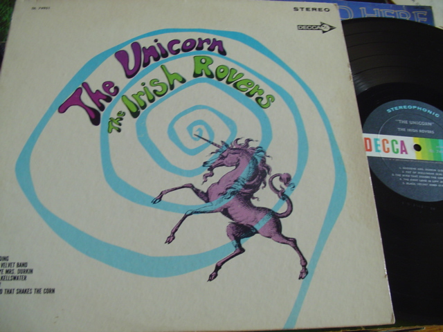 THE IRISH ROVERS - THE UNICORN - DECCA