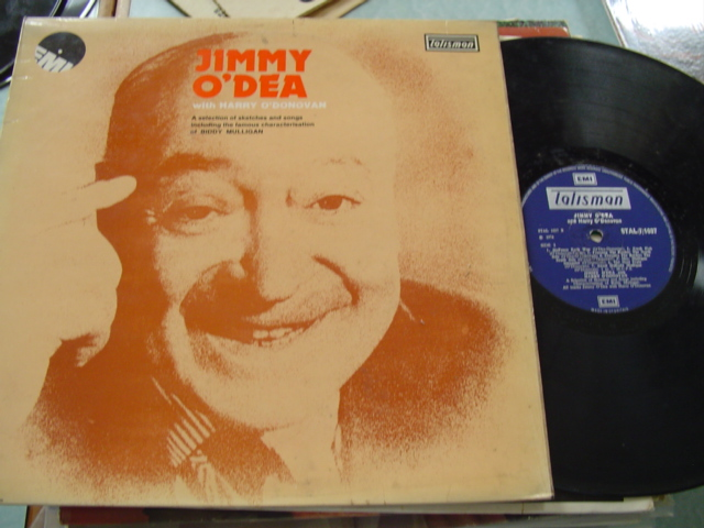 JIMMY O'DEA - WITH HARRY O'DONOVAN - EMI 1037