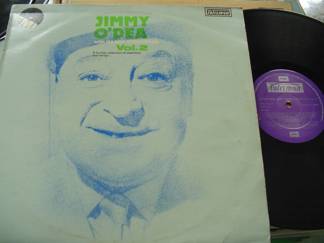 JIMMY O'DEA - WITH HARRY O'DONOVAN - EMI 1044