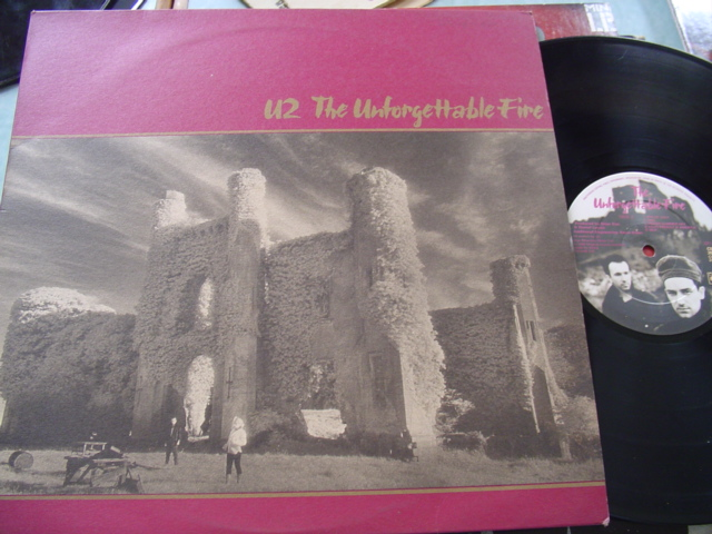 U2 - THE UNFORGETTABLE FIRE - CBS