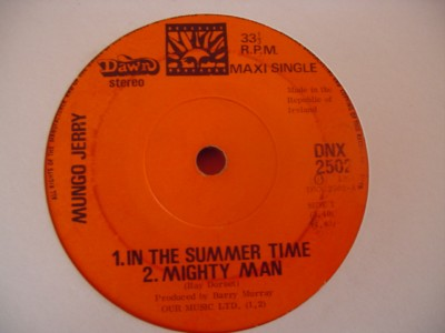 MUNGO JERRY - IN SUMMERTIME - DAWN { IP 282