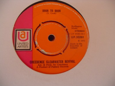 CREEDENCE CLEARWATER REVIVAL - DOOR TO DOOR - UA { IP 281