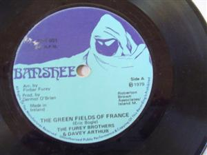 FUREY BROTHERS - GREEN FIELDS FRANCE - BANSHEE RECORDS
