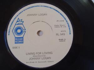 RL 0949 - JOHNNY LOGAN - LIVING FOR LOVING - RELEASE
