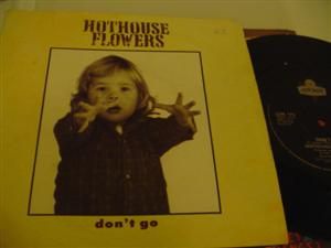 HOTHOUSE FLOWERS - DONT GO - LONDON { 250