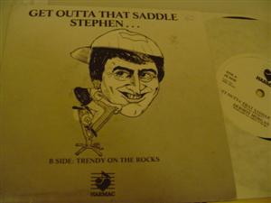 DERMOT MORGAN - GET OUT OF SADDLE STEHEN - 251