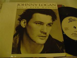 JOHNNY LOGAN - ALL I EVER WANTED - EPIC 253