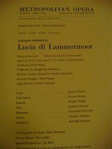 DONIZETTI - LUCIA LAMMERMOOR - FRANCI PETERS 1969 { 31