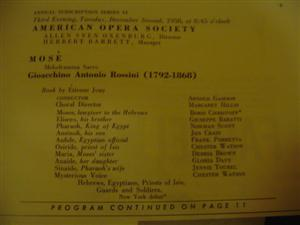 ROSSINI - MOSE - CARNEGIE HALL - CHRISTOFF 1958 { 28