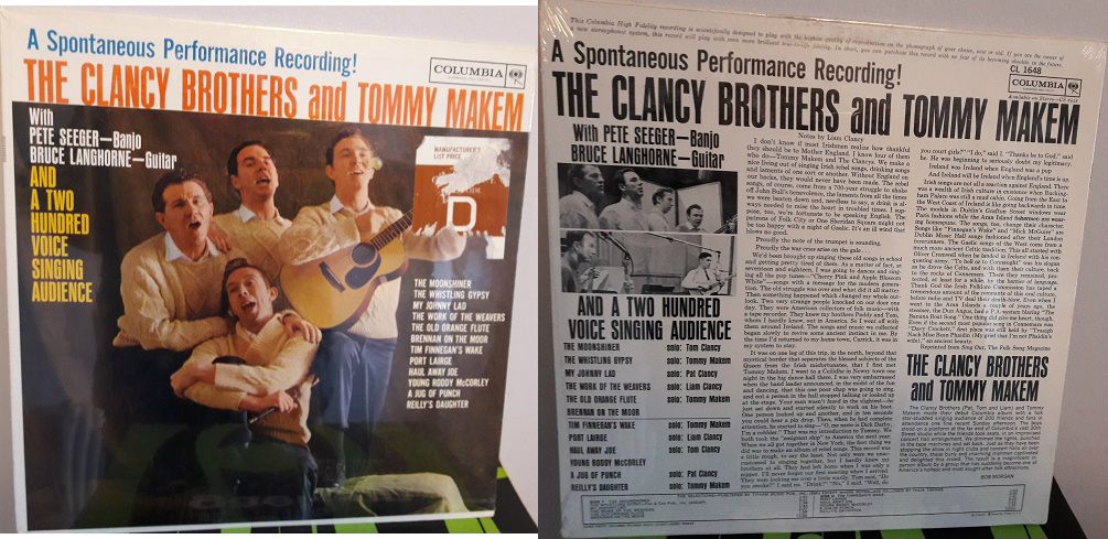 Clancy Brothers & Makem - Spontaneous - Columbia Sealed 1960s