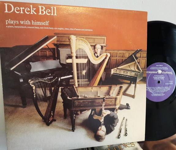 Derek Bell - Plays with Himself - Claddagh CSM.54 - 1980 Irish
