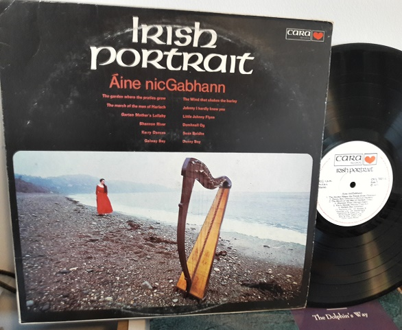 Aine NicGabhann - Irish Portrait - Cara Records CR/L.7001 1971