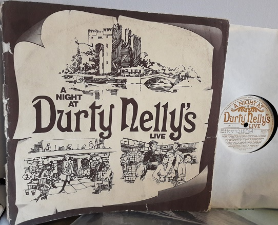 Various Irish - A Night at Durty Nelly's Live - Rare LP 1975