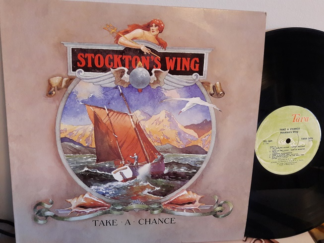 Stockton's Wing - Take a chance - Tara Records 3004 Irish 1980