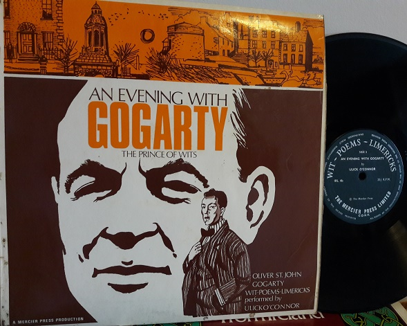 Ulick O'Connor - An evening with Gogarty - Mercier IRL.4 1960's