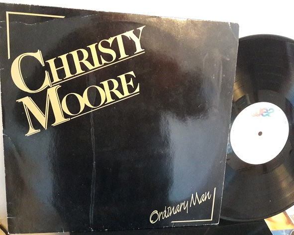 Christy Moore - Ordinary Man - WEA IR.0763 - Irish 1985