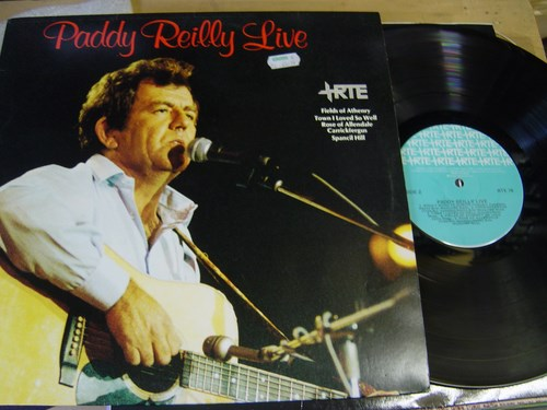 Paddy Reilly - Live - RTE Irish Pressing