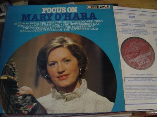 Mary O'Hara - Focus On - Decca 2 LP