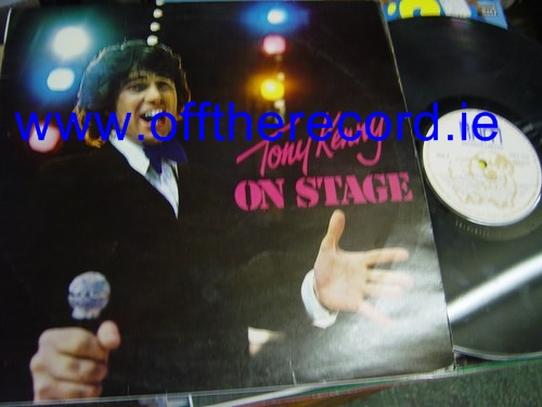 Tony Kenny - On Stage - Ram Record Label 1015