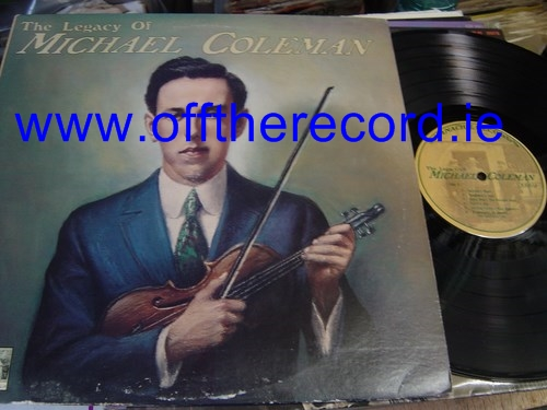 Michael Coleman - The Legacy of - Shanachie Records 33002