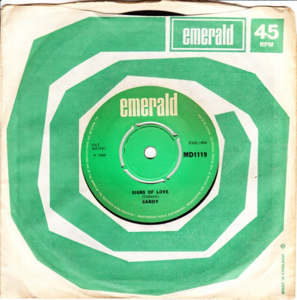 Emerald MD.1119 - Candy - Signs of love 1969
