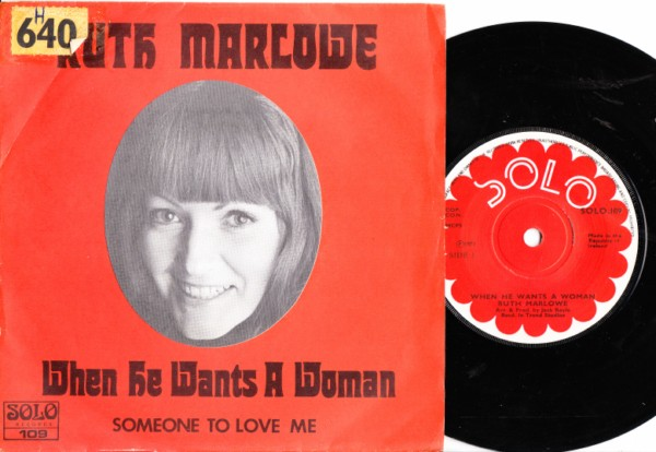 Solo 109 - Ruth Marlowe - When he wants a woman - 1972