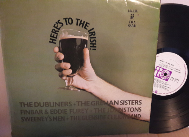 Various Artists - Here's to the Irish - Transatlantic TRA SAM 1