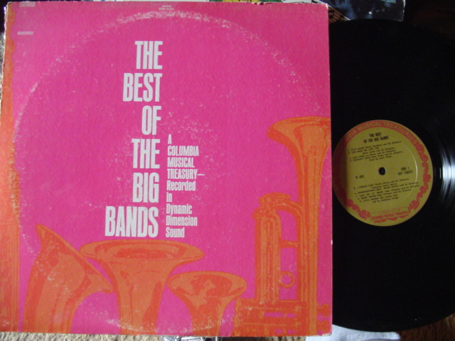 VARIOUS - THE Best of Big Bands - Columbia 2lp