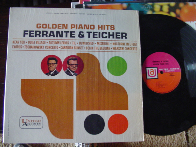 FERRANTE & TEICHER - GOLDEN PIANO HITS - UA